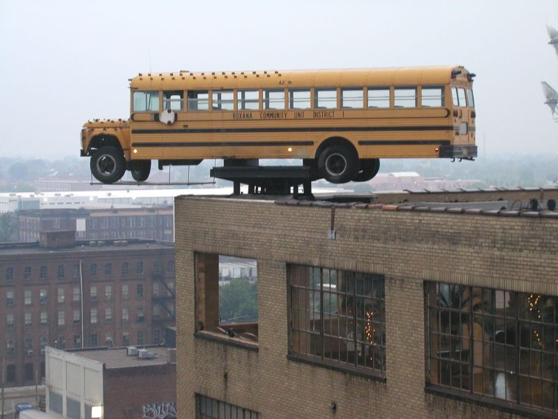 City Museum School Bus