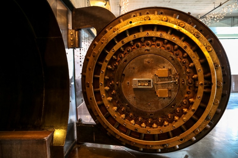 City Museum Bank Vault Doors
