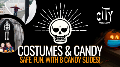 Costumes and Candy at City Museum