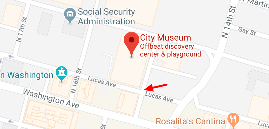 City Museum Map