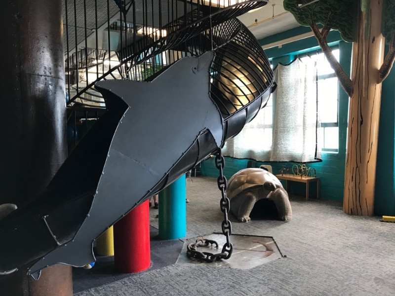 City Museum Toddler Town Dolphin Slide